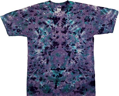- Tie Dyed Shop Kaleidescope Crinkle Tie Dye Shirt-5x