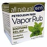 Matys All Natural Vapor Rub, 1.5 Ounce