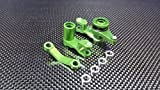 Traxxas Slash 4X4 Stampede 4X4 VXL Deegan 38 Fiesta ST Rally Upgrade Parts Aluminum Steering Assembly With Bearings - 1Set Green