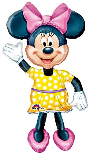 Anagram International Minnie Mouse Air Walker, Multi-Color (International Ringer)