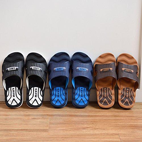 de Verano de Interior Zapatillas de de Verano Gruesas Sandalias Coreana Marea xiaolin Baño de 01 casa Tamaño de Opcional EqnEtwArzY