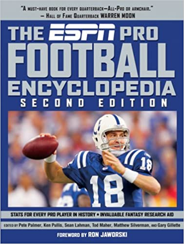 The Espn Pro Football Encyclopedia Pete Palmer Ken Pullis Sean