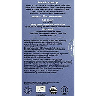 Pukka Night Time, Organic Herbal Tea With Valerian (6 Pack, 120 Tea Bags)