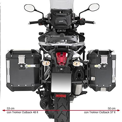 Givi PL6408CAM Saddlebag Holder For Trekker Outback Cases - Triumph Tiger Explorer 1200