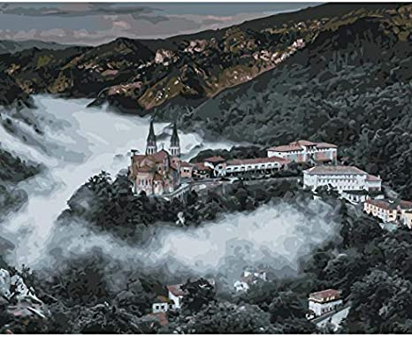 Puzzle 1000 Piezas Kit De Paisaje Mundial De La Catedral De España Rompecabezas Clásico 3D Puzzle De Juguete De Madera De Regalo: Amazon.es: Hogar