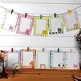 Global Brands Online 9Pcs 6 Inch DIY Wall Hanging Photo Frame Creative Children Animals Cartoon Paper Pictures Film Album