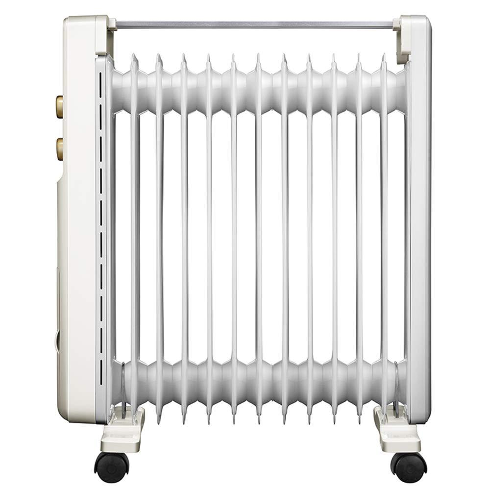 Calentador Chunlan Calefacción eléctrica Aceite, 13 radiadores, Alta Potencia, Calor Grande, Ahorro de energía: Amazon.es: Hogar