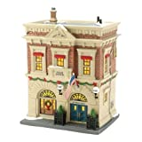 Department 56 Christmas in The City Village Precinct 56 Police Station Lit House, 8.27-Inch