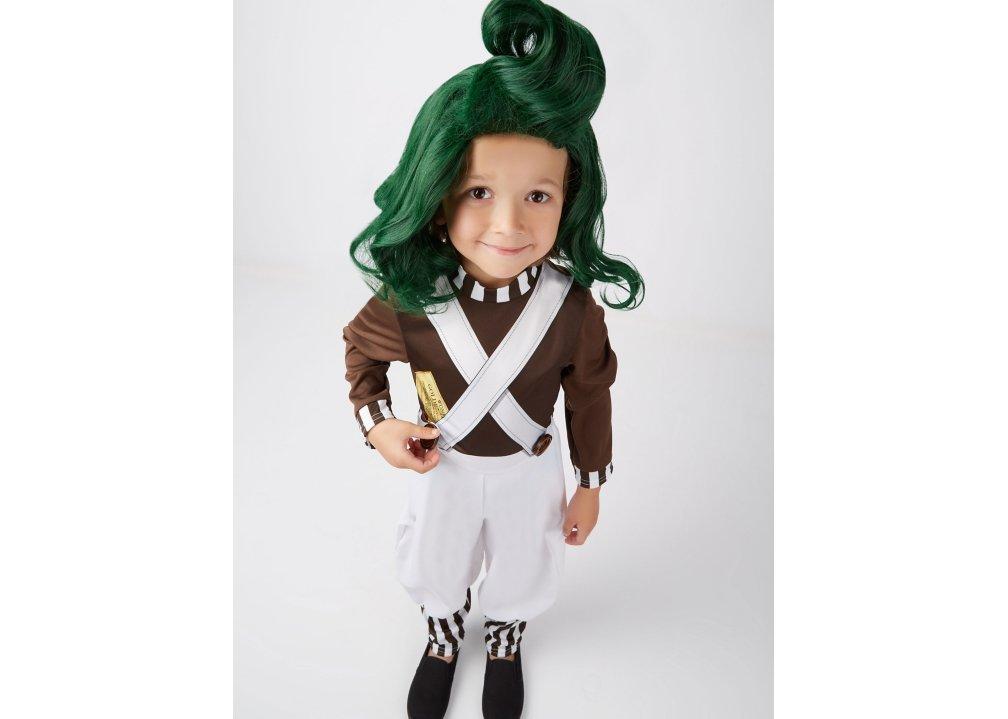 Garçons Oompa-Loompas Costume Kids Umpa Lumpa Déguisement Enfant Livre Semaine Costume