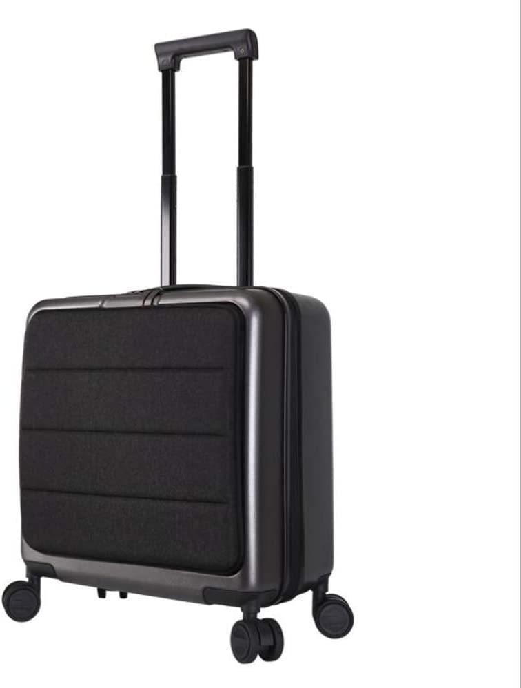 CHERRIESU 18inch//20inch Single Trolley Small Trolley Case 4 Wheeled with TSA Lock Executive Business Bag Mobile Office Cabin Luggage Suitcase