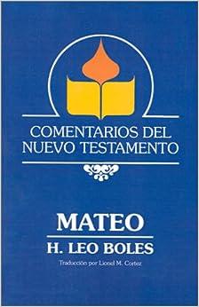 Book Comentarios Del Nuevo Testamento - Mateo (Paper)