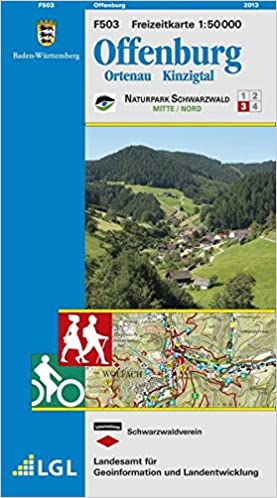Lgl Bw 50 000 Freizeit Offenburg Ortenau Kinzigtal Naturpark