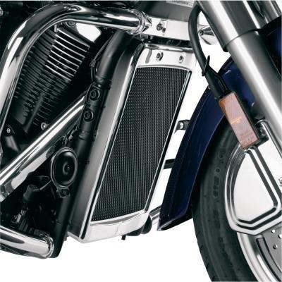 Show Chrome Accessories 1-307 Mesh Radiator (Show Chrome Accent Radiator)