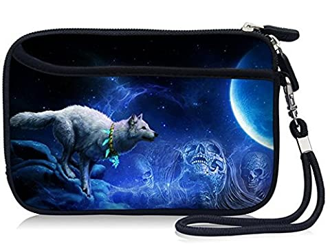High Quality Designed Waterproof Shockproof HDD SSD eSATA Carrying Hand Strap Case Bag Cover with Extra Front Pocket For 2.5