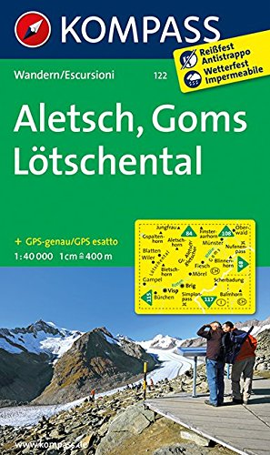 Download Aletsch - Goms - Lötschental 1 : 40 000 PDF