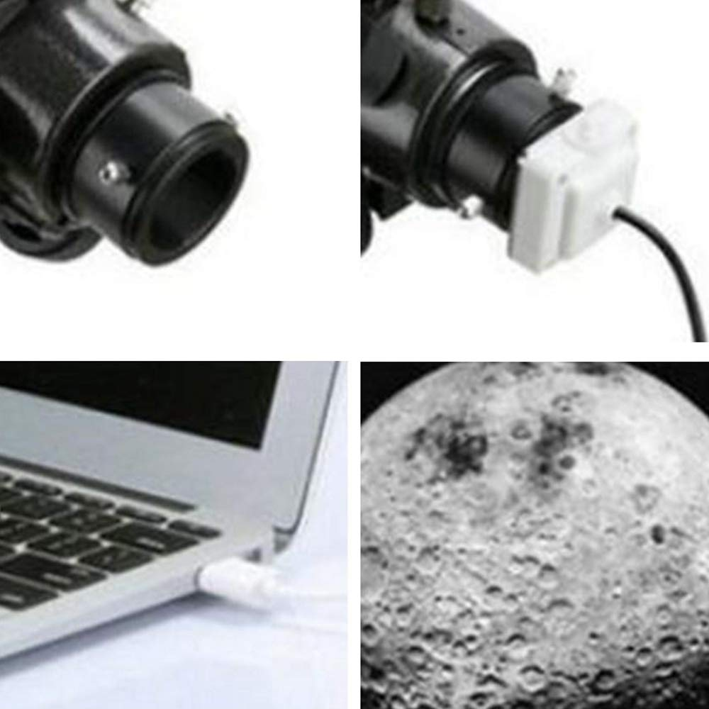 TOOGOO Telescope 80W Pixels 1.25 Usb Digital Lens Electronic Eyepiece Camera Astronomical Telescope Accessories Connecting