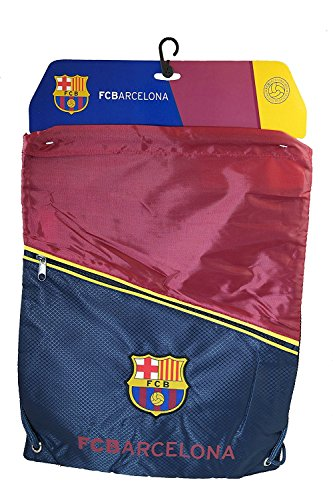 Fc Barcelona GYM Sack BAG Drawstring Backpack Cinch Bag Authentic Official NEW (New Mens Drawstring)