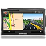 "Carelove 760 7"" Car GPS Navigation 8G Touch Screen Multimedia Player Lifetime Free Map Update"