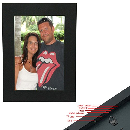 Photo Frame Hidden Camera & DVR, Best Spy Cam Picture Frame ...