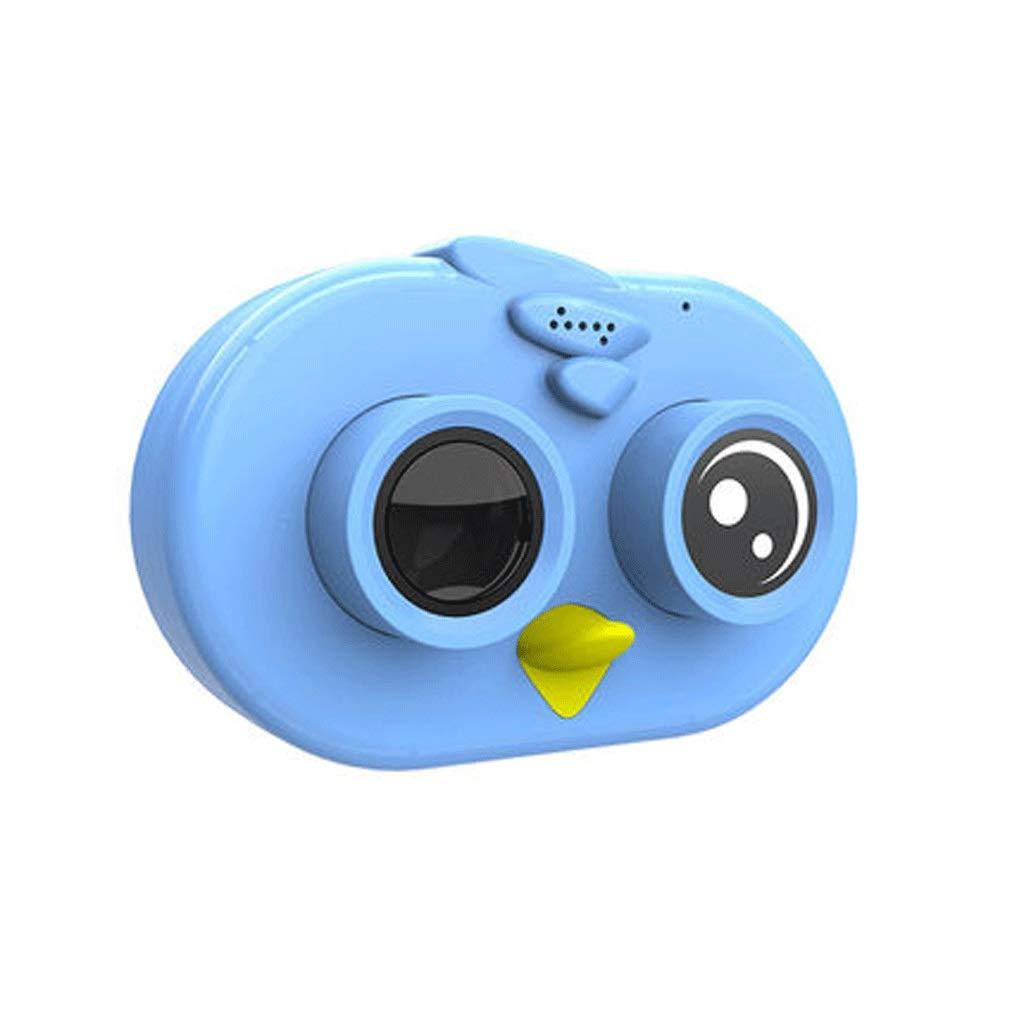 Kinder Digitalkamera Spielzeug kann Fotos Video Baby Fotografie Mini HD Kinder Urlaub Geburtstagsgeschenk nehmen (Farbe   rot, Größe   5.6  8.2cm) Blau 5.68.2cm