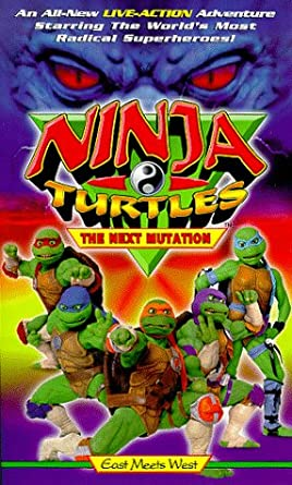 Amazon.com: Ninja Turtles:Next Mutation [VHS]: Jarred ...