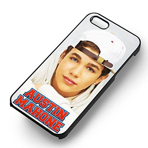 Cute Austin Mahone pour Coque Iphone 6 et Coque Iphone 6s Case (Noir Boîtier en plastique dur) Y1I1SR
