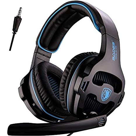 Amazon com: SADES New Version Xbox One Gaming Headset