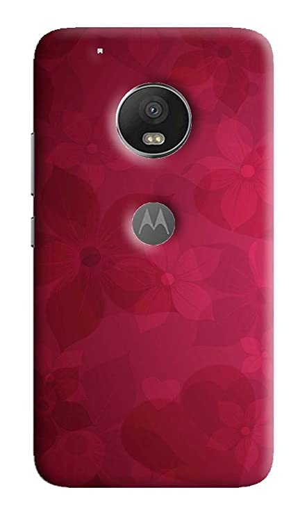 big sale c9b97 461d9 DRaX Soft Printed Pattern Back Cover for Moto G5 Plus: Amazon.in ...