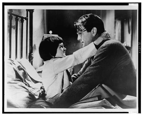 Photo: Child Actress,Mary Badham,Gregory Peck,Harper Lee's,To Kill a Mockingbird,1962]()