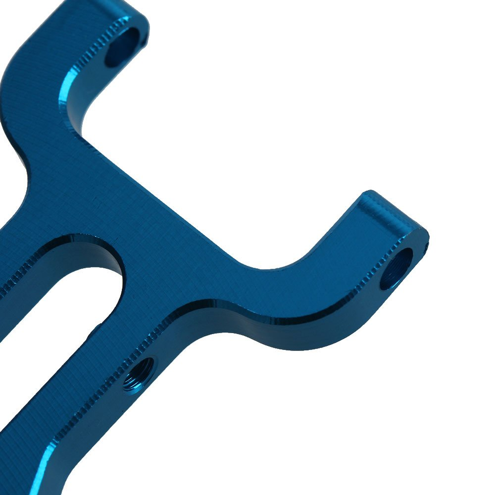 BQLZR Blau RC 1:18 Buggy A580019 Upgrade Teile Aluminium vorne unteren Querlenker Ersatz f/ür WL Pack von 2