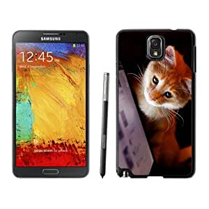 NEW DIY Unique Designed Samsung Galaxy Note 3 Phone Case For Small Yellow Cat Looking At The Screen Phone Case Cover