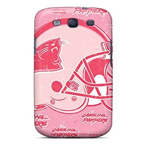 Samsung Galaxy S3 Ndr1678FIEW Unique Design Vivid Carolina Panthers Pictures High Quality Hard Phone Case -NataliaKrause