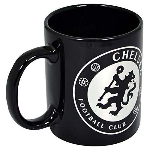 Chelsea FC Soccer Club Official React Ceramic Mug (One Size) (Black) ()