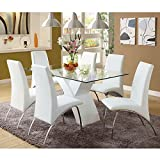 Cheap 247SHOPATHOME IDF8370WH-T-7PC Dining-Room-Sets, White