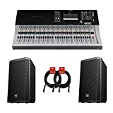Yamaha TF5 32 Channel Digital Mixer Bundle including Passive...