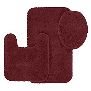 Amazon Com Maples Rugs Bathroom Rugs Set Cloud Bath 3pc