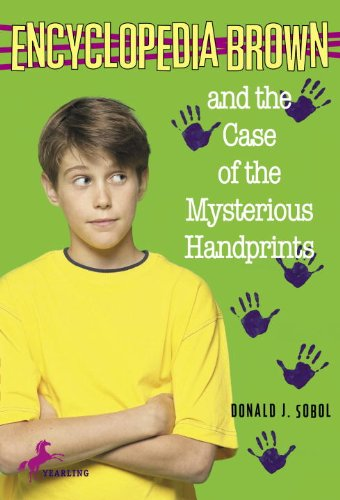 Encyclopedia Brown and the Case of the Mysterious Handprints (Kindle Case Print)