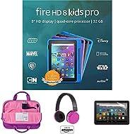 "Fire HD 8 Kids Pro tablet, 8"" HD (Doodle) with Kids Headset + Sleeve + Screen Prot"