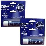 Nivea for Men Active Care - Nivea Lip Care 0.17oz