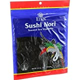 Eden Organic Sushi Nori, Toasted Cultivated, 7 Count, 0.6-Ounce Packages (Pack of 6) ( Value Bulk Multi-pack)