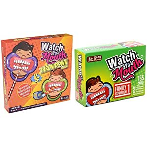Watch Ya' Mouth Throwdown Edition Card Game, Family Bundle