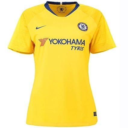 a3a0e9a9 Amazon.com : Nike 2018-2019 Chelsea Away Ladies Football Soccer T-Shirt  Jersey : Sports & Outdoors