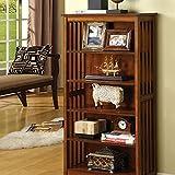 Furniture of America CM-AC249 Valencia I Media Shelf
