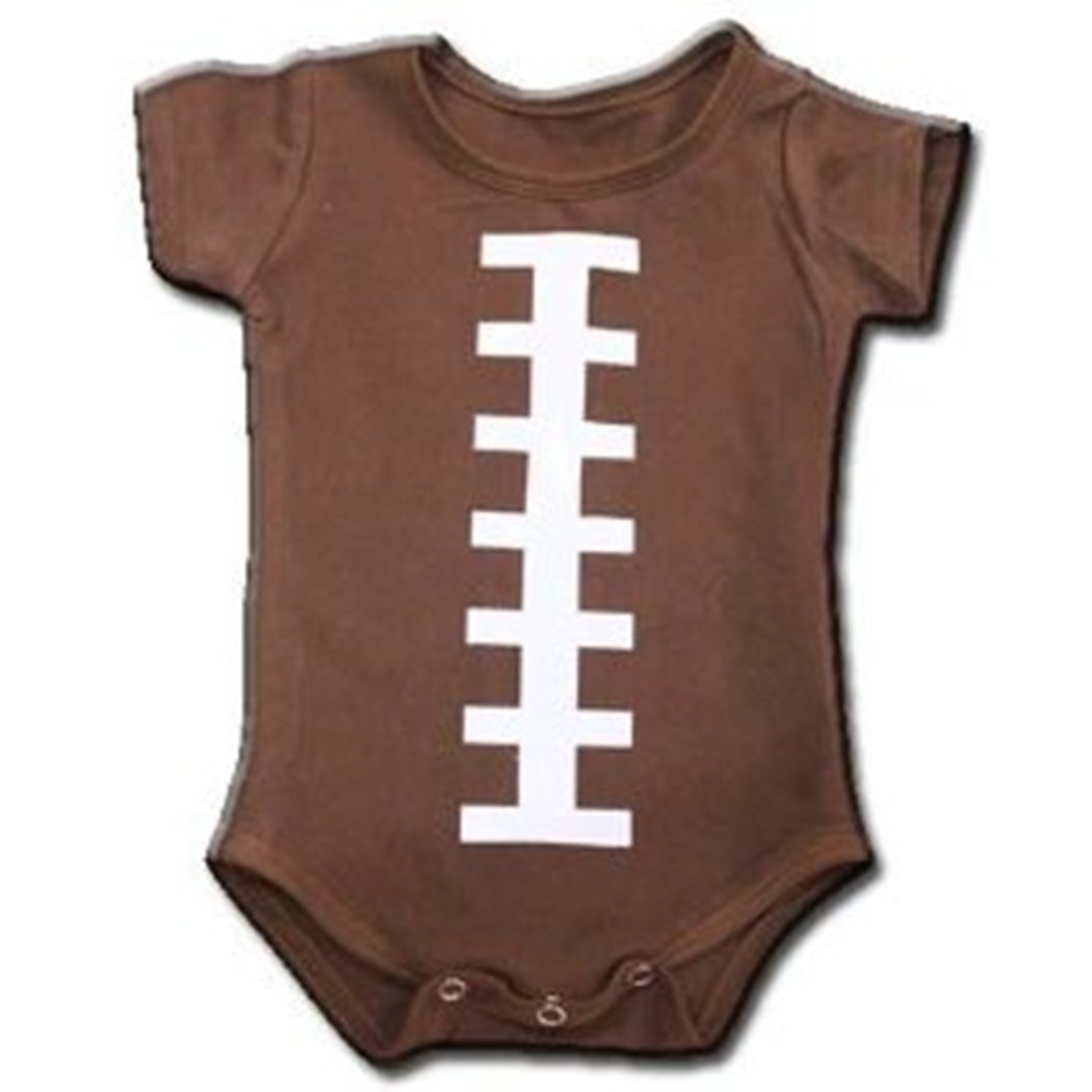 Short Sleeve Onesis L FOOTBALL American Touch Down 12-18 Months