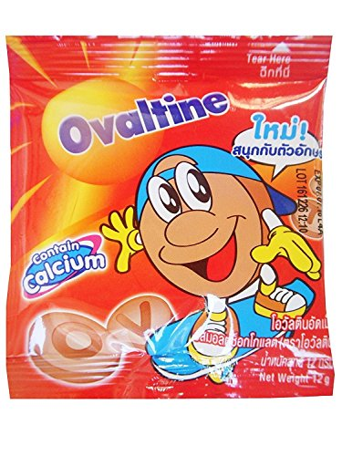 Ovaltine Chocolate Flavoured Tablet Malt Candy, 12g 24 ()