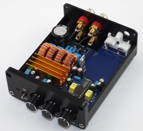 Class D 250W AMP TPA3116 + LM1036 Digital Amplifier Adjustable Bass & Treble by Jolooyo