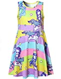 Perfashion Girls Sleeveless Mermaid Party Dress Holiday Tank Dress for Kids