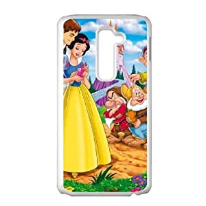 Printed Cover Protector LG G2 Cell Phone Case Sudry Snow White and Seven Dwarfs Unique Design Cases