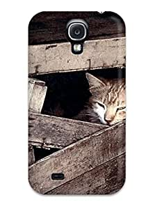 S4 Scratch-proof Protection Case Cover For Galaxy/ Hot Cats S Phone Case