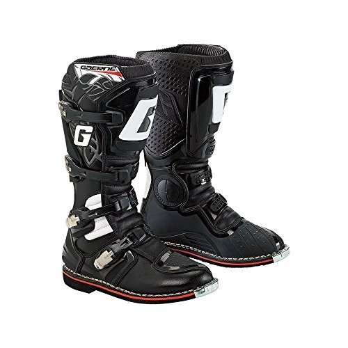 Motocross Riding Boots (Gaerne GX-1 Offroad Motocross Riding MX Boots Black Mens Size 6)